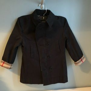 Kids size 8 Burberry trench